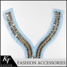 Top selling human collars neck design for churidar