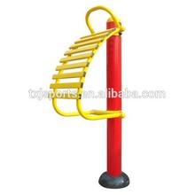 Park steel outdoor fitness equipment Spine stretching rack (TXJ-H016)