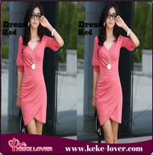 C4001 on discount korea girl pink short half-sleeve girls club wear