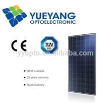 YYOPTO poly 72 piece solar panel 156*156 polycrystalline silicon solar cell price