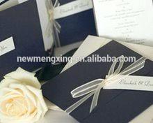 Mais novo exportados cartões de casamento para imprimir frete atacado