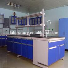 Epoxy resin top laboratory island bench