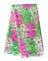Multicolore de haute qualité big vente personnaliser robe de la dame de mode cordon tissu en dentelle de mariée en dentelle robes/tissus de dentelle africain