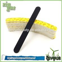 kroean mini wood nail file black wooden nail file high quality wooden nail file
