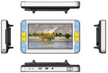 5 pulgadas LCD de vídeo Digital de la lupa de mano lupa portátil