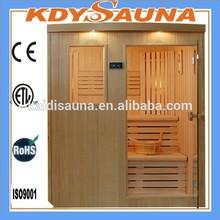 traditional finish steam sauna room for 4 person KD-8004SCB
