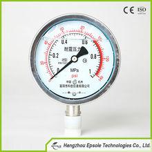 Shock-proof Pressure Gauge/Manometer/Pienometer