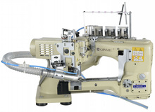 High Speed 4 Needle 6 Thread manual mini sewing machine