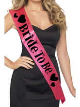 Hen night party bride to be sash with fashion style hen party suplies SA2038