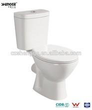 2015 hot elongated wash-down toilet sizes