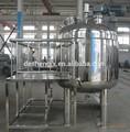 cosmétiques machine de mélange sous vide émulsifiant homogénéisateur pour la fabrication de fromage