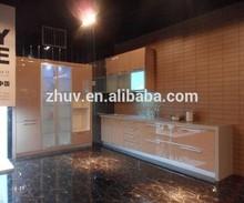 E1 grade eco-friendly mdf fiber kitchen cabinet