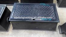 Japan standard cast iron water Surface Box