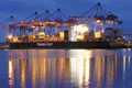 سفينة شحن إلى يانغون وكيل الشحن