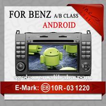 CE E8 certificate Car radio for Mercedes Benz W169 W245