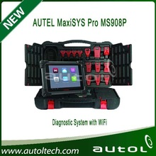 Update via inernet 100% Original AUTEL MaxiSYS Pro MS908P AUTEL MaxiDas Maxisys pro Diagnostic System with WiFi ----In stock