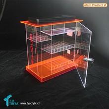 Factory Accept Customize 3-tier Plexiglass Counter Display for 30ml E-liquid Bottles Acrylic 30ml E liquid Bottles Display Rack