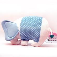 cute promotional colourful plush elephant