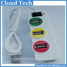 2015 fashion portable factory direct suply traffic light shape 4 ports 2.0 usb por hub latest wireless mouse