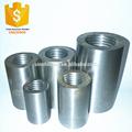45 # barras de refuerzo de acero de acoplamiento conectores / barras de refuerzo de manga