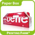 personalizado de envasado de alimentos caja de papel corrugado