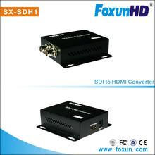 Foxun 2015 hot selling SX-SDH1 Best HDMI Converter - Convert HD SDI/SD SDI to HDMI converter