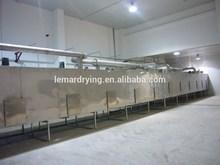 Coconut meat mesh belt dryer