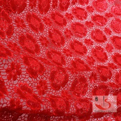 Low price in bulk production free sample bridal lace fabric wholesale