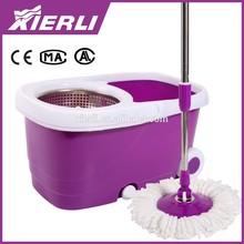 Heavy Duty Industrial Mop Plastic Cleaing Bucket With Nylon Wheels