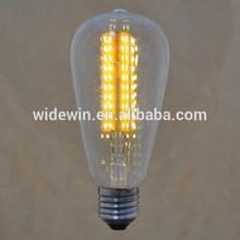 12pcs/lot ST64 Edison Cross LED bulbs vintage bulbs 220V