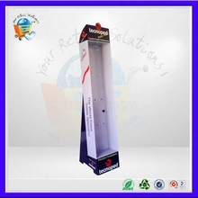 pos oat display stand ,pos mobile chain displays ,pos mobile chain corrugated standing