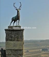 skyfall movie bronze stag statue