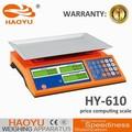 Chinês acs balança eletrônica de preços, hy-610 calibração eletrônica escala acs