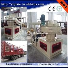 high capacity environment friendly 2t/h ring die fuel pellet making mill