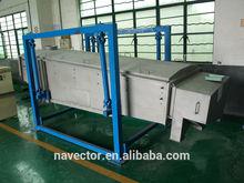 PVC resin large capacity linear vibrating screen