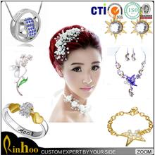 Free sample latest design fashion jewelry wholesale