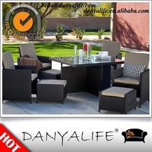 DYDS-D9402 Danyalife Hot Selling Outdoor Rattan Terrace Cube Set