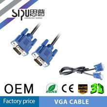 SIPU high quality vga to db25 vga vga cable resolution 3+5