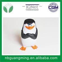 2015 new style promotional PU foam penguin design