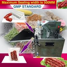 External Pumping Vacuum Packaging Machine/stainless steel Vacuum Sealer Machine