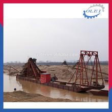 Factory price iron sand dredger boat ship FLB-400