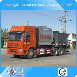 new condition 6x4 asphalt gravel chip sealer,synchronous chip sealer