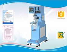 Single-color sealed label, pen ,bluetooth , photo, pad printing machine with ink cup LC-PM1-150T
