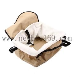 Portable Car Dog Hanging Basket Bed Pet Booster Seat