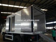 dry van truck body/cargo van dry van truck body refrigerator iveco