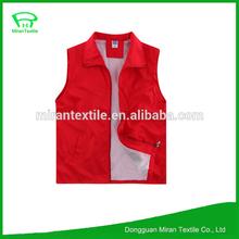 poly cotton cheap working tool vest design mens wholesale work vest