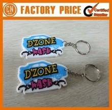 Customized Logo OEM Designed Cheap PVC Keychain