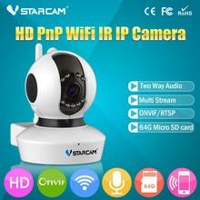 VStarcam C7823WIP No Ethernet Cable Wifi Setting Megapixel Night Vision Motion Detection 720P PTZ Wifi Onvif 2.0 P2P IP Camera