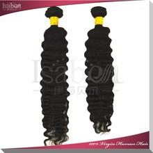 Isabel brazilian virgin hair Fast shipping deep wave brazilian hair 5A 8 -32 inch remy hair