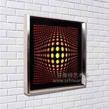 Cool design 3D Acrylic Wall Art for Corridor